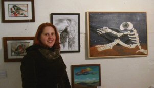 Elise is a resident artist at the studio Rogues Atelier.