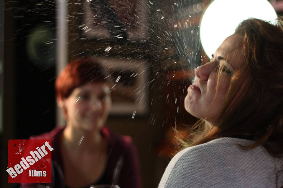 Rehearsing Last Girl Standing. (Image by Lloyd Ludgrove)