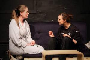 The play focusses on issues around mental health. (Image courtesy of Postcard Theatre)