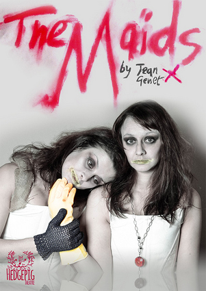 Gemma Sharp and Anna Rose James in The Maids.