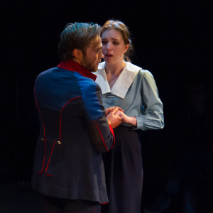 Protagonists Andreas Kragler and Anna Balicke (Photo courtesy of Michael J Oakes)