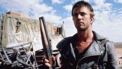 Mel Gibson in Mad Max.