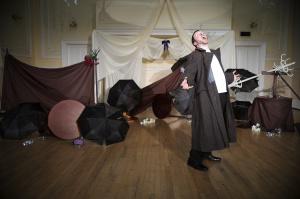 John Hoyland plays Timon.