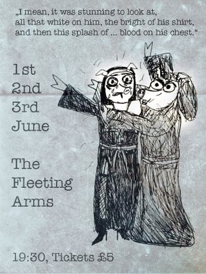 Both plays are showing, back to back, at The Fleeting Arms.