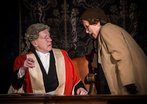 Theatre Mill turned Agatha Christie's Witness For The Prosecution into an immersive theatrical experience.