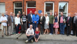 Frankie Howerd plaque unveiling