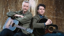 Billy Bragg and Joe Henry tour their latest album, Shine a Light.