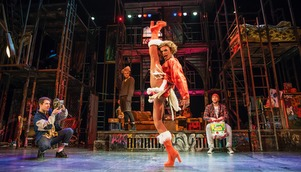 RENT is the story of impoverished youths trying to make it in New York (image courtesy of RENT 20th Anniversary Production Ltd).