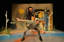 Daniel Naddafy as Goose and Danny Childs as Ugly Duckling.
