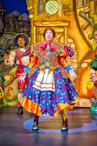 Berwick Kaler makes an excellent panto dame, once more. (Photo by Anthony Robling)