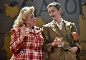 Isabel Ford and Christine Mackie in Whisky Galore, photo courtesy of York Theatre Royal