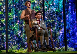 Matthew Durkan and Steven Roberts in The Secret Garden at York Theatre Royal, photograph by Ian Hodgson