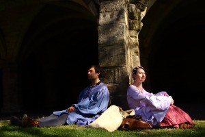 Adam Elms and Gemma Shelton in Tales of Bacon