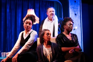 L to R: Ani Nelson, Lachele Carl, David Verrey, Sharlene Whyte. Photo by Helen Murray.