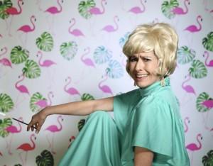 Caroline Burns Cooke as Yootha Joyce, Photograph by Steve Ullathorne